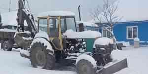 Трактор юмз-6л петушок (лопата и ковш)