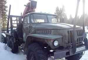 Урал-4320 с Гидроманипулятором сф -65