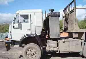 Камаз 53228 сед. тягач с прицепом