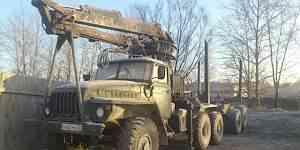 Урал 4320 с прицепом