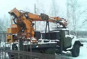 Бурильно-крановая машина скбм-1