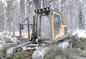 Харвестер на базе Volvo EC 210 BLC (2011 г.)