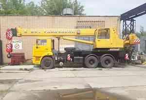 Автокран 25 тонн Галичанин стрела 28 метров