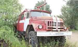Пожарная машина на базе ЗИЛ-131