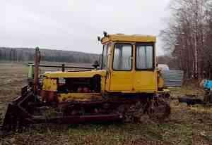 трактор дт-75 (бульдозер)