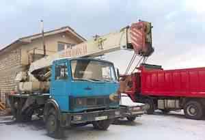 автокран Маз Ивановец 14 тн.14 м или обмен