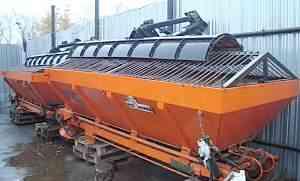 Навесное пескоразбрасывающее оборудование вм-28