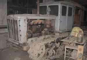 Дт 54 гусеничный трактор
