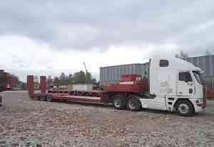 Сцепка Freightliner Argosy + тралл Goldhofer