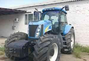 колесные трактора NEW holland TG 285 2004 г