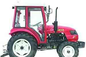 Трактор Донгфенг Dongfeng DF-304 с кабиной