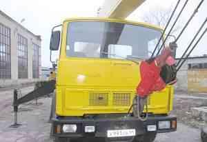 Автокран ивановец 14 тонн, 14 метров, 1995 г. в