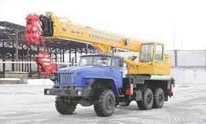 автокран 25 тн, на базе Урала