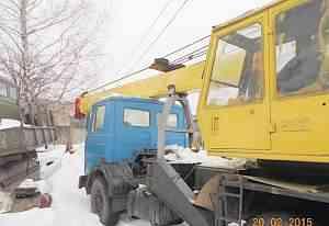 автокран маз смк-12 (дизель-электрический)
