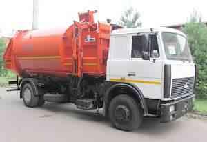 Ко-449-35 мусоровоз боковая загрузка V22 куб