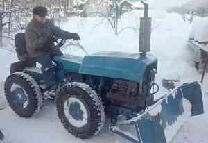 Трактор самодельный с гидравликой(40лс)