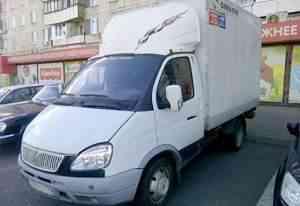 Газель 3302. Мебельный фургон, 2007 г