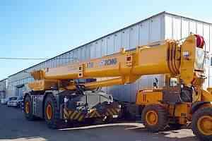 Самоходный кран xcmg RT60 г/п 60 тонн