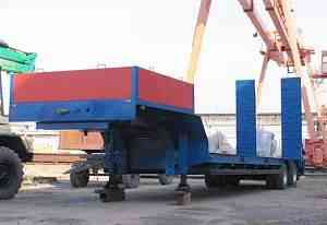 Трал полуприцеп тяжеловоз 93231 26 тонн