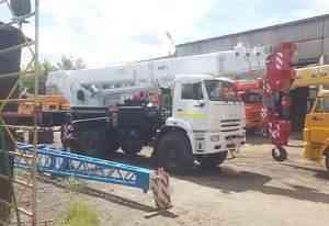 Автокран 40 тонн вездеход Камаз 6х6 Клинцы 31 метр