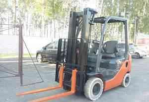 Бензиновый погрузчик Toyota 8FG15 2008 г. 4.7м