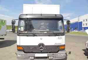 Mercedes-Benz 818 atego, изотермический фургон 5 т