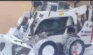 Мини погрузчик bobcat 650S бобкет с гидромолотом