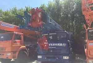 Галичанин кс 55713-1В Камаз 25 тонн стрела 28 м