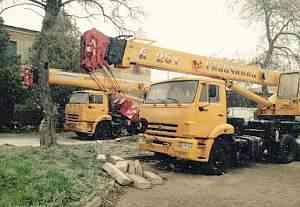 Галичанин кс 55713-1 Камаз 25 тонн стрела 21.7 м