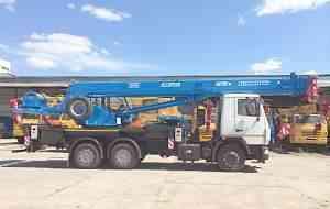 Автокран Клинцы стрела 31 метр (Овоид) 25 тон маз