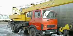 Автокран Маз кс-3577