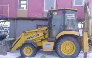 Komatsu WB93R-5E0