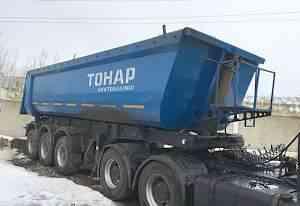 Маз 6430 седельный тягач + тонар трёхосный