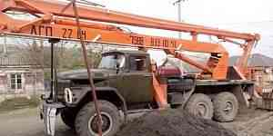 Автовышка вездеход агп 22 метра на базе зил131