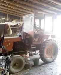 трактор Т-25 + телега, плуг, лопата
