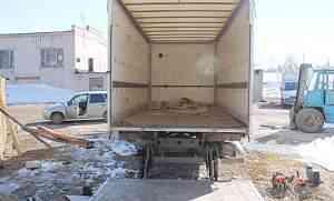 Промтоварный фургон 6.10х2.40 36куб с гидробортом