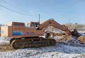 Экскаватор Кранекс EK-270-LC Год выпуска - 2012