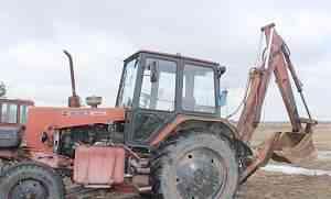 Экскаватор на базе трактора юмз-6акм40