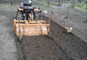 Мини трактор kubota+ фреза+ ямобур+ кузов+ фаркоп