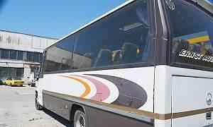 автобус Mercedes-Benz 814 в Ялте
