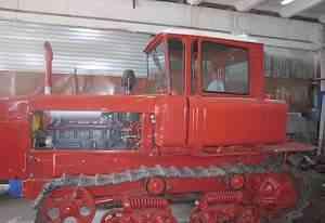 Трактор дт- 75 после капитального ремонта 2016 г