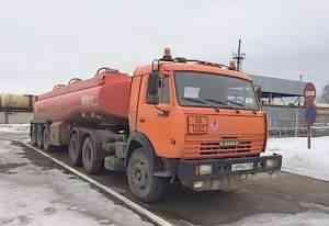 Камаз 54115 бензовоз 2012 г., полуприцеп цистерна