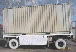 Прицеп гкб-8350 контейнер