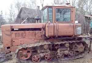 Гусеничный трактор дт 75