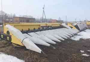 Жатка 12 рядная для уборки кукурузы oros QSA