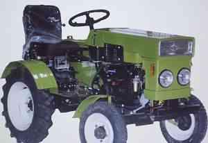 Мини трактор grosser