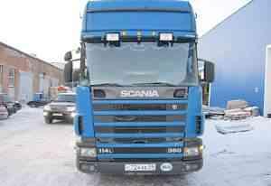 Scania 114 + рефрижератор 2001г