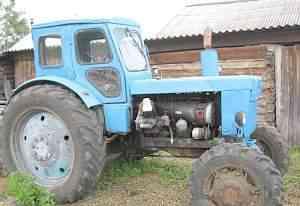 трактора с телегой