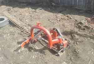 косилку и грабли на мини трактор