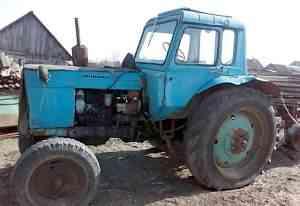 Трактор мтз-80 в хорошем состоянии